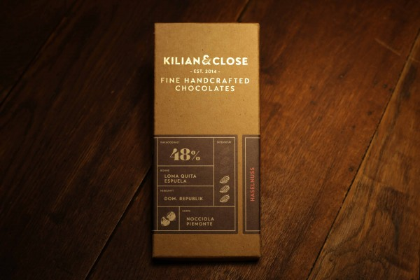 Haselnuss-Schokolade - 48% - Kilian & Close