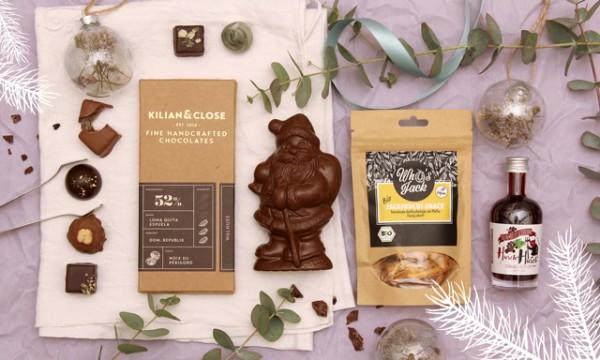 Geschenkbox Vegane Weihnachten
