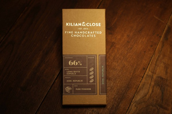 Dom.Republik-Schokolade - 66% - Kilian & Close