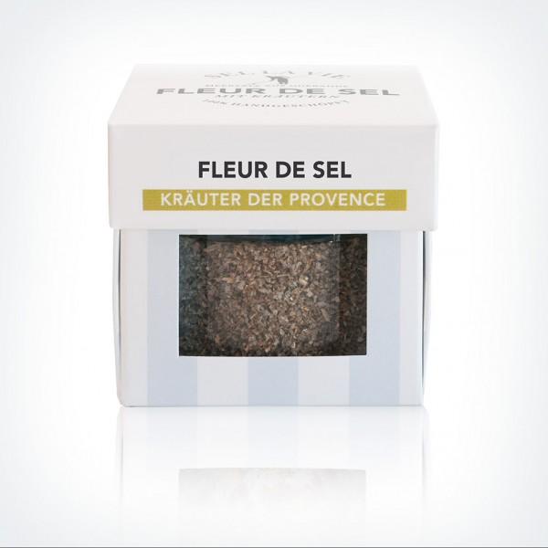 Fleur de Sel mit Kräutern der Provence im Glas
