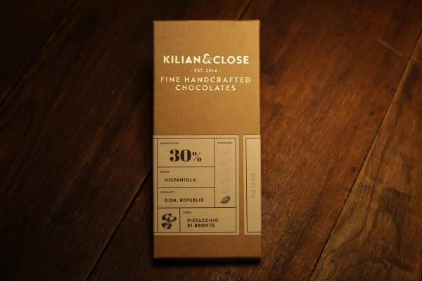 Weiße-Schokolade mit Pistazie - 30% - Kilian & Close