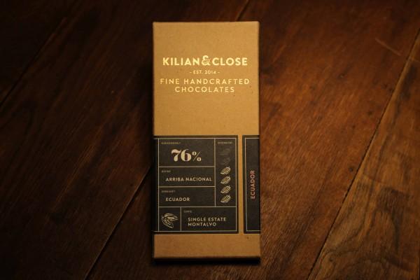 Ecuador-Schokolode - 76% - Kilian & Close