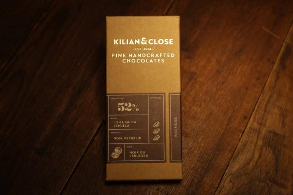 Walnuss-Schokolade - 52% - Kilian & Close